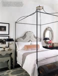 Maison Canopy Bed Tara Shaw Maison Iron Venetian Canopy Bed With Uph