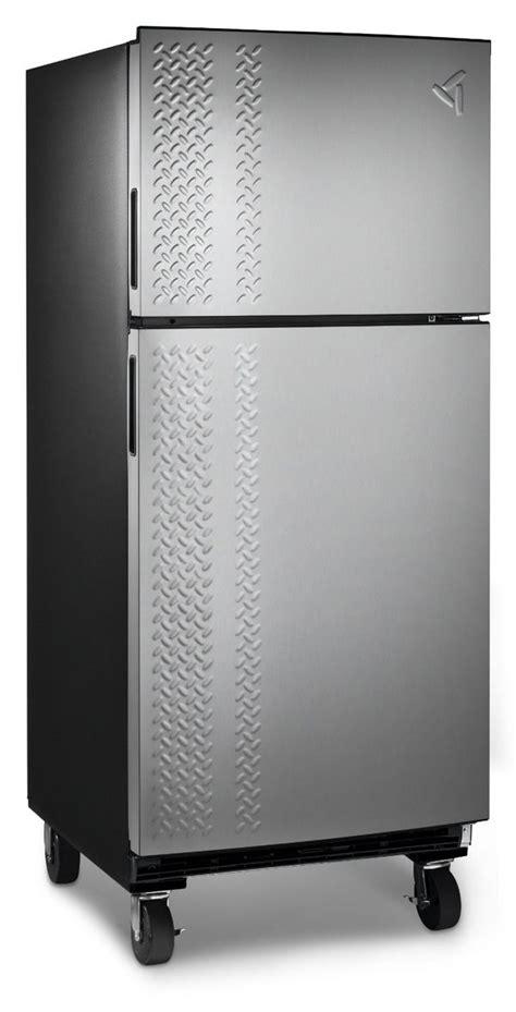 luxe industrialized garage fridges garage fridges