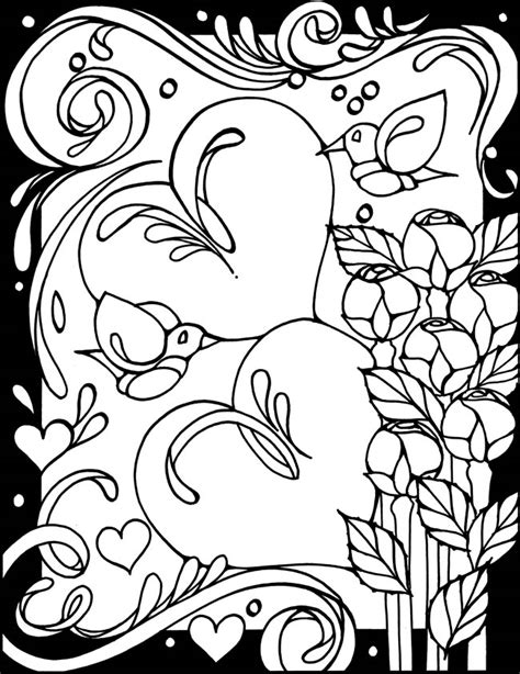 abstract coloring pages hearts abstract coloring pages abstract heart coloring pages