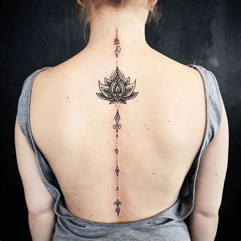 feminine back tattoos image result for back ideas mandala
