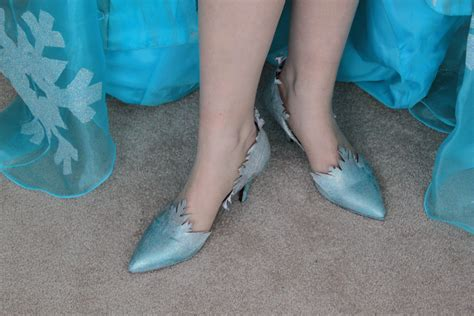 elsa shoes reberry costuming adventures