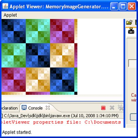 pattern maker java memoryimagesource 171 2d graphics 171 java tutorial