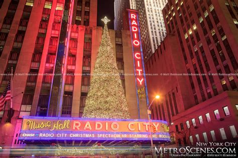 radio city christmas tree tree on radio city metroscenes in new york city city skyline and