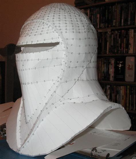 Papercraft Costume - imperial guard helmet skupilkinson s pepakura wars