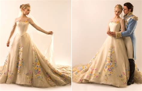 cinderella film how long here s a look at the cinderella movie wedding dress