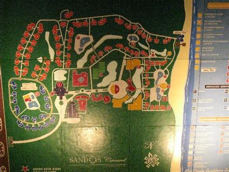 eco resort map map of resort picture of sandos caracol eco resort spa