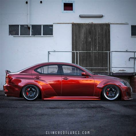 lexus is 250 body kit lexus is250 is350 widebody kit by clinched flares