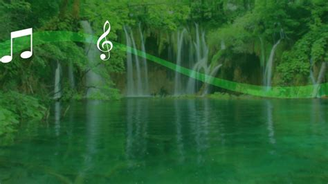 waterfall sound  wallpaper youtube