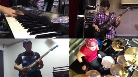Dreamtheater Band instrumedley theater band cover