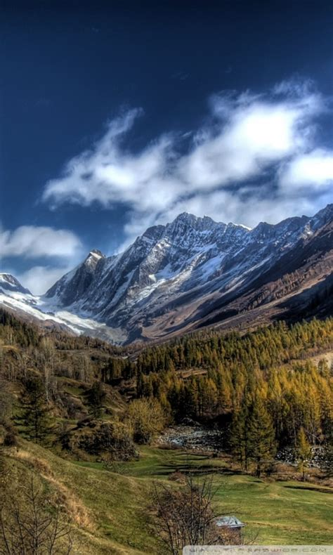 mountains landscape nature   hd desktop wallpaper