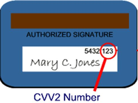 Sle Credit Card Number With Cvv2 Code What Is Cvv2
