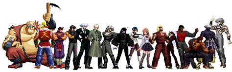 Kaos Gouki kof anthology all characters pack edits mugen free