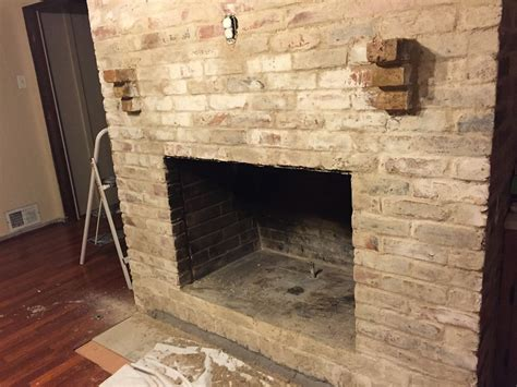 mortar for fireplace how to mortar wash german smear a brick fireplace