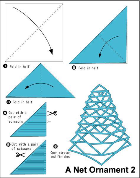 Origami Net - origami dekorasi untuk perayaan atau pesta fachri s