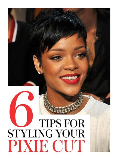 Would You Try An Asymmetrical Bob Like Rihanna And Kellie by Best 25 Styling Pixie Cuts Ideas On Style