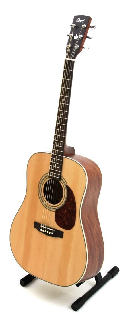 Gitar Akustik Cort Lancip Glossy cort earth 70 ns acoustic guitar