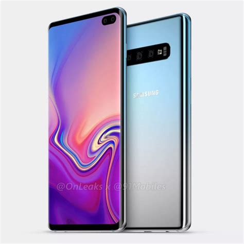 Samsung Galaxy S10 Plus by Galaxy S10 Plus Just Leaked Big Time Slashgear