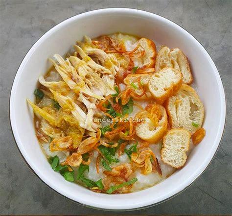 bubur ayam kampung love indonesia recipe kumpulan