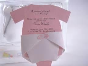 onesie diaper invitation baby shower ideas pinterest