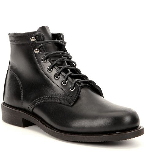 wolverine kilometer 6 quot s leather lace up boots in