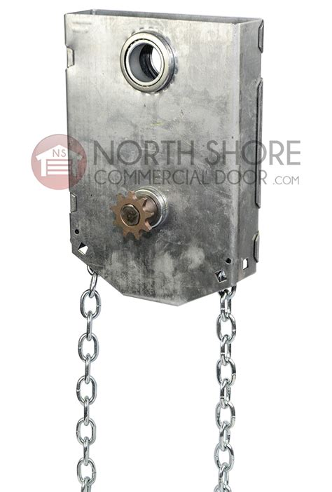 Garage Door Chain Hoist Garage Door J R Jackshaft Chain Hoist 1 1 4 Quot Shaft