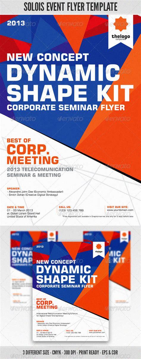 Contoh Flyer Corporate Event 187 Dondrup Com Graphicriver Event Flyer Template