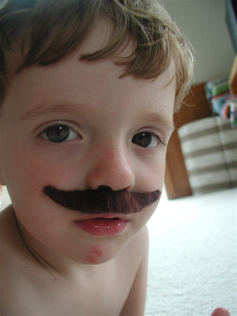 Mustache St Kid babies with staches oh it s been babies and mustaches reunite