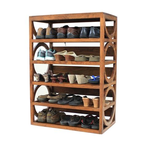 5 Shelf Shoe Rack by Shoe Racks Shoe Stands Footwear Storage Unit