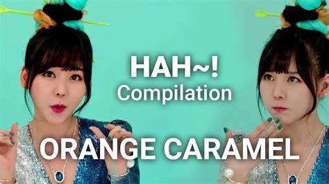 orange caramel catallena s hah