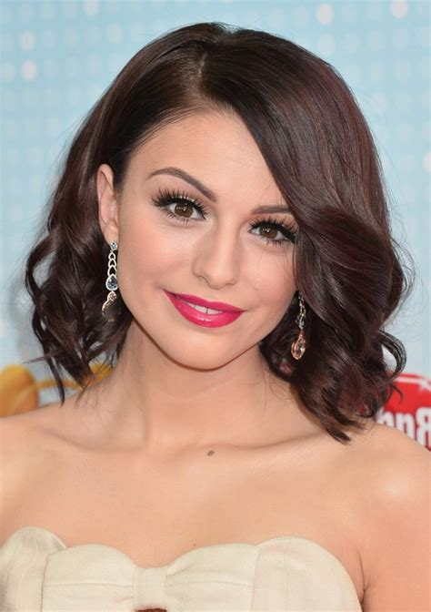 Cher Lloyd Hairstyles by Cher Lloyd Brown Wavy Hairstyle For Oval Faces
