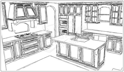 Kitchen Drawings by Kitchen Drawing Marceladick Com