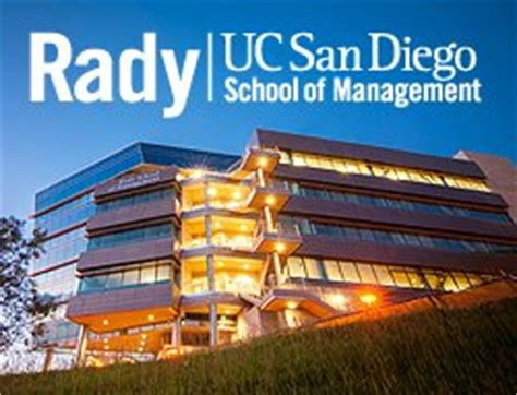 Ucsd Rady Mba Cost by Rady School Of Management Excel For Business