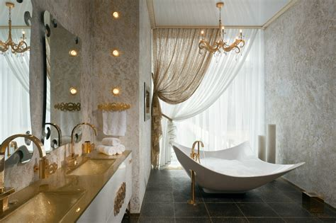 Gold White Bathroom Vanity Interior Design Ideas White And Gold Bathroom Ideas