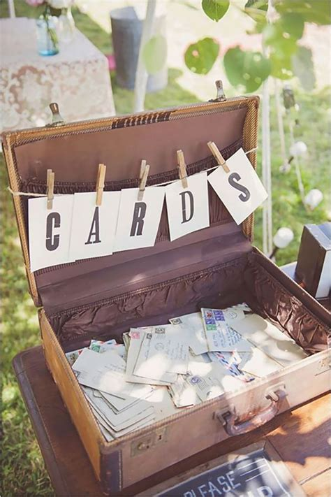 best 25 vintage suitcase wedding ideas on suitcase card box vintage wedding cards