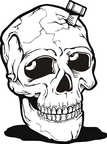 imagenes de calaveras en caricatura imagenes de calaveras y esqueletos muy buenas im 225 genes