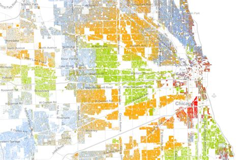 chicago ethnicity map the best map made of america s racial segregation wired