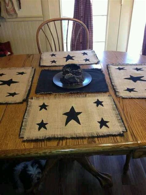 primitive country table ls best 25 placemat ideas on quilt placemats