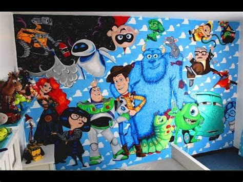 1 Set Batu Lukis Disney The Mermaid disney mural wip disney painting doovi