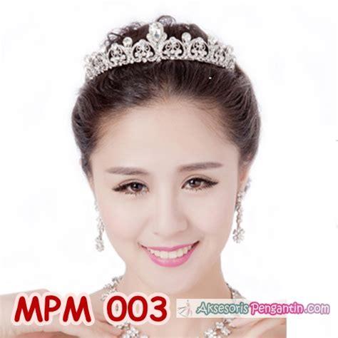 Mahkota Rambut Tiara Wedding Hiasan Rambut Pesta Pengantin Cc035 jual mahkota pesta modern l tiara rambut pengantin modern