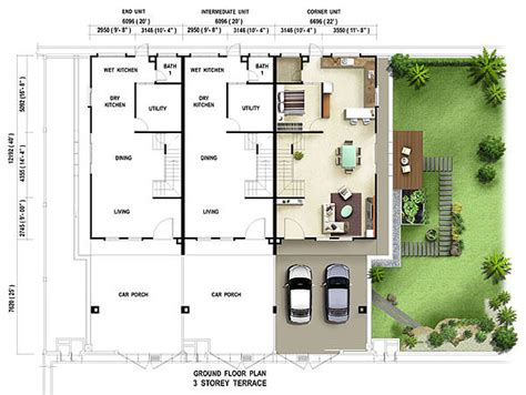 house layout plans terrace house floor plan house plans terrace house