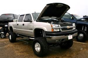 lifted chevy 2500 diesel truck