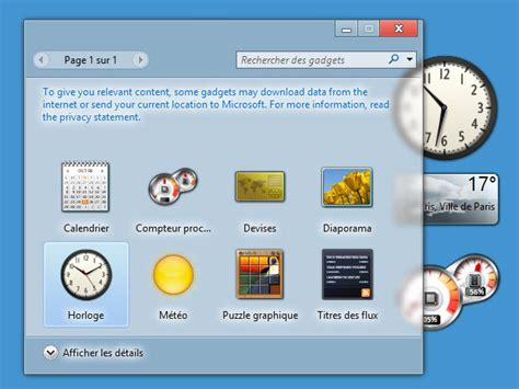 gadget de bureau windows 8 la fin des gadgets dans windows 8 cnet