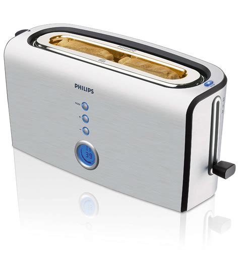 Toaster Software Aluminium Collection Toaster Hd2618 00 Philips