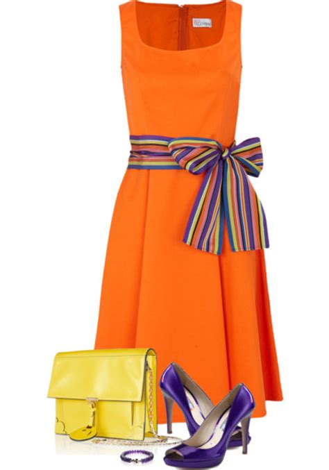 orange and blue combination troy tashaz blog colour concept orange and blue outfits