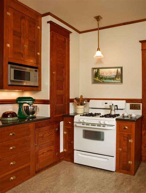 restored kitchen cabinets restored cabinets in a renovated craftsman kitchen