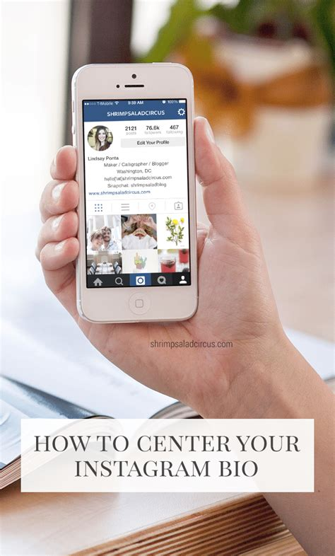 bio instagram middle how to center your instagram bio blog better