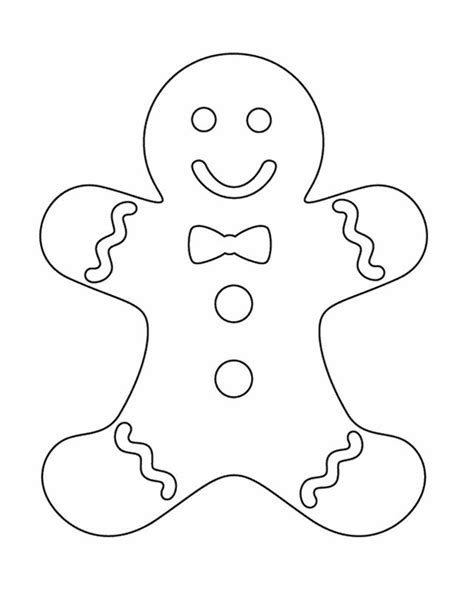 printable template of a gingerbread man best 25 gingerbread man template ideas on pinterest