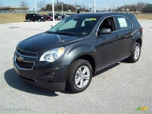 Chevrolet Grey Ashen Gray Metallic 2012 Chevrolet Equinox Ls Exterior