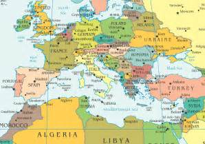 Europe Africa Map by Europe North Africa Map Gif