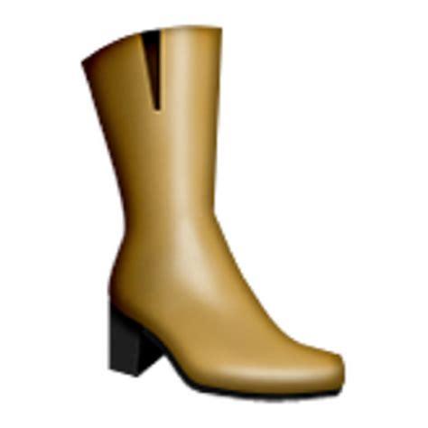 old boat emoji womans boots emoji u 1f462 u e31b